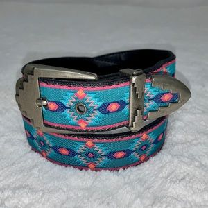 Vintage 80's Nuovo South Western Style Belt Small